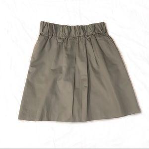 Grey pleated Banana Republic Skirt